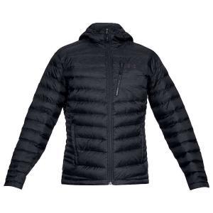 アンダーアーマー Under Armour メンズ ダウン・中綿ジャケット アウター ISO Down Hooded Sweater Black / Black / Charcoal fermart3-store
