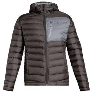 アンダーアーマー Under Armour メンズ ダウン・中綿ジャケット アウター ISO Down Hooded Sweater Charcoal / Steel / Charcoal fermart3-store