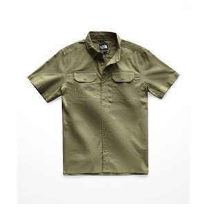 ザ ノースフェイス The North Face メンズ 半袖シャツ トップス battlement ss shirt Four Leaf Clover|fermart3-store