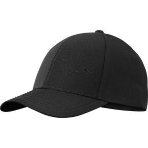アークテリクス Arcteryx ユニセックス キャップ 帽子 Bird Cap Black|fermart3-store