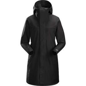 アークテリクス Arcteryx レディース コート アウター solano coat Black|fermart3-store