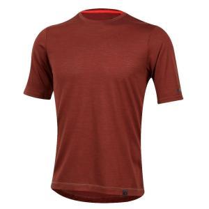 パールイズミ Pearl Izumi メンズ Tシャツ トップス BLVD Merino Tee Russet|fermart3-store