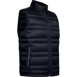 アンダーアーマー Under Armour メンズ ベスト・ジレ ダウンベスト トップス Armour Down Vest Black/Pitch Grey fermart3-store