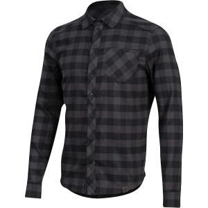 パールイズミ Pearl Izumi メンズ シャツ トップス Rove LS Shirt Black/Phantom Plaid|fermart3-store