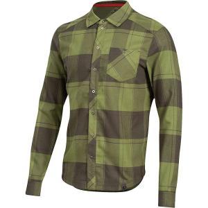 パールイズミ Pearl Izumi メンズ シャツ トップス Rove LS Shirt Forest/Willow Plaid|fermart3-store