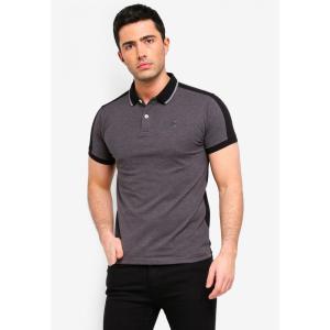 フォルクスワーゲン Volkswagen メンズ ポロシャツ トップス Embroidery Polo Shirt Dark Melange|fermart3-store