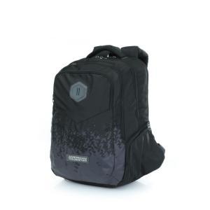 b321667dbc44 アメリカンツーリスター American Tourister メンズ バックパック・リュック バッグ Insta+ Backpack 01 Black  / Grey