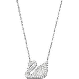 スワロフスキー レディース ネックレス ジュエリー・アクセサリー Swan Necklace silver|fermart3-store