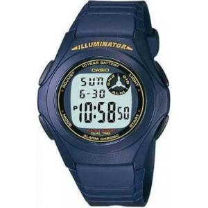 カシオ Casio メンズ 腕時計 CASIO WATCH F-200W-2BDF blue fermart3-store
