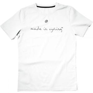 アソス Assos メンズ トップス 自転車 Made In Cycling Short - Sleeve T - Shirts Holywhite|fermart3-store
