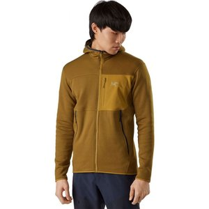 アークテリクス Arc'teryx メンズ フリース フード トップス Fortrez Hooded Fleece Jacket Yukon|fermart3-store