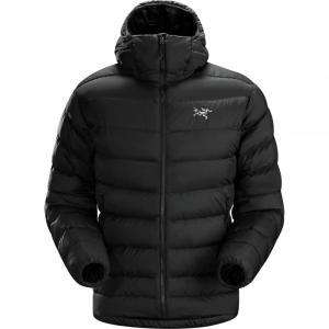 アークテリクス Arc'teryx メンズ ダウン・中綿ジャケット アウター Thorium AR Hooded Down Jackets Black|fermart3-store