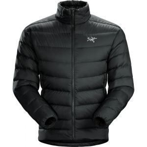 アークテリクス Arc'teryx メンズ ダウン・中綿ジャケット アウター Thorium AR Down Jackets Black|fermart3-store
