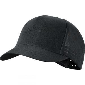 アークテリクス Arc'teryx レディース キャップ 帽子 Tirse Trucker Hat Black|fermart3-store