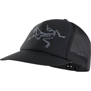 アークテリクス Arc'teryx レディース キャップ 帽子 Bird Trucker Hat Black|fermart3-store