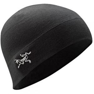 アークテリクス メンズ ニット 帽子 Rho LTW Beanie Black fermart3-store