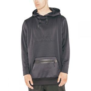 アルマダ Armada メンズ パーカー トップス Vortex Tech Fleece Hoodies Black|fermart3-store