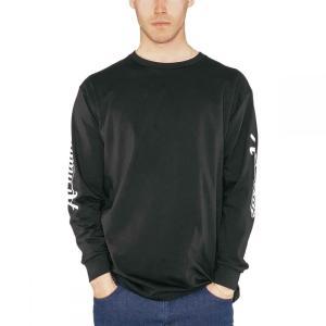 アルマダ Armada メンズ 長袖Tシャツ トップス Cipher Long - Sleeve T - Shirts Black|fermart3-store
