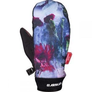 アルマダ Armada レディース 手袋・グローブ Carmel Windstopper Mitt Glacial Bloom|fermart3-store