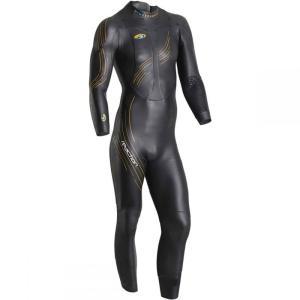 ブルーセブンティ Blueseventy メンズ ウェットスーツ トライアスロン Reaction Full Wetsuits Black|fermart3-store