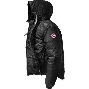 カナダグース メンズ ダウンジャケット アウター Lodge Down Hooded Jackets Black/Black|fermart3-store