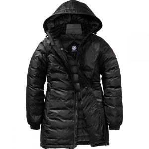 カナダグース レディース ダウンジャケット アウター Camp Down Hooded Jacket Black/Black|fermart3-store