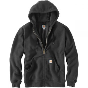 カーハート Carhartt メンズ アウター トレーナー・パーカー Rain Defender Rutland Thermal Lined Full-Zip Hoodie Carbon Heather|fermart3-store