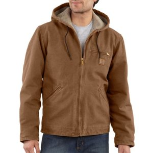 カーハート Carhartt メンズ アウター ジャケット Sierra Hooded Jacket Carhartt Brown|fermart3-store