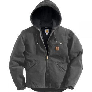 カーハート Carhartt メンズ アウター ジャケット Sierra Hooded Jacket Shadow/Black Accents fermart3-store