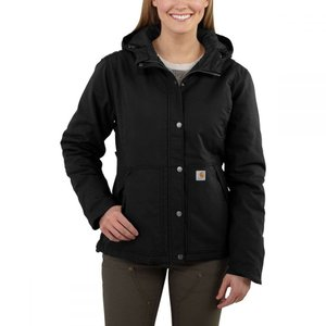 カーハート Carhartt レディース ジャケット アウター Full Swing Cryder Insulated Jacket Black|fermart3-store