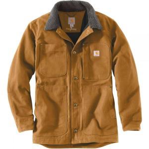 カーハート メンズ コート アウター Full Swing Chore Coats Carhartt Brown fermart3-store