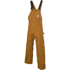 カーハート メンズ オーバーオール ボトムス・パンツ Duck Bib Overall Pants Carhartt Brown fermart3-store