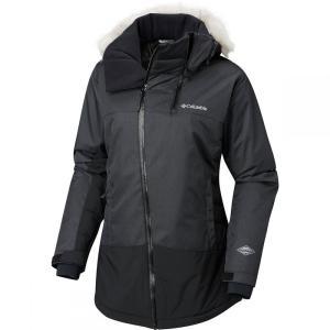 コロンビア Columbia レディース アウター スキー・スノーボード Emerald Lake Parka Charcoal Heather|fermart3-store