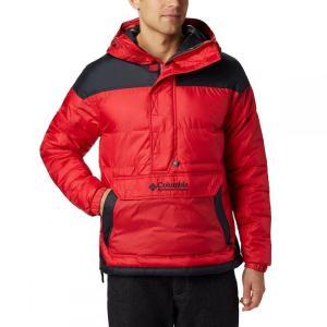 コロンビア Columbia メンズ ジャケット アウター Lodge Pullover Jacket Mountain Red/Black|fermart3-store