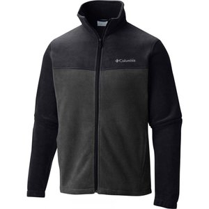 コロンビア メンズ アウター ジャケット Steens Mountain Full - Zip 2.0 Fleece Jackets Black/Grill|fermart3-store