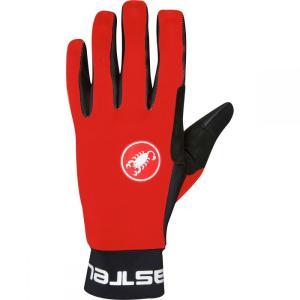 カステリ メンズ グローブ 自転車 Scalda Glove Red/Black|fermart3-store