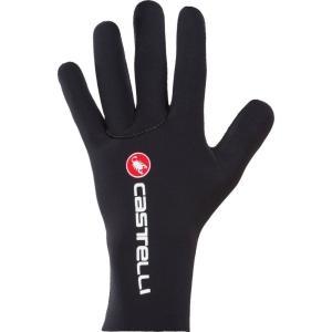 カステリ Castelli メンズ グローブ 自転車 Diluvio C Gloves Black|fermart3-store