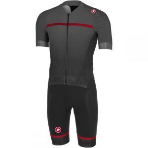 カステリ Castelli メンズ トップス トライアスロン Sanremo 3.2 Speed Suits Black|fermart3-store
