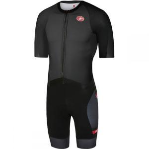カステリ Castelli メンズ トップス トライアスロン All Out Speed Suits Black|fermart3-store