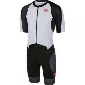 カステリ Castelli メンズ トップス トライアスロン All Out Speed Suits White/Black|fermart3-store