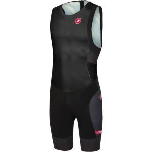 カステリ Castelli メンズ トップス トライアスロン Free Tri ITU Suits Black|fermart3-store