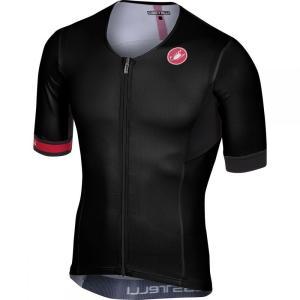 カステリ Castelli メンズ トップス トライアスロン Free Tri Sleeveless Tops Black|fermart3-store