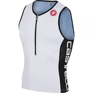 カステリ Castelli メンズ トップス トライアスロン Core 2 Tops White/Black|fermart3-store