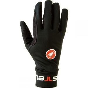 カステリ Castelli メンズ サイクリング グローブ Lightness Glove Black|fermart3-store