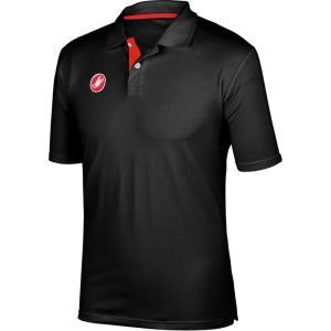 カステリ Castelli メンズ トップス ポロシャツ Race Day Polo Shirt Black|fermart3-store