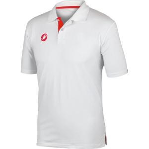 カステリ Castelli メンズ トップス ポロシャツ Race Day Polo Shirt White|fermart3-store
