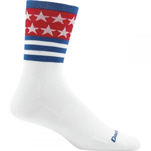 ダーンタフ レディース ソックス インナー・下着 Stars/Sripes Micro Crew Ultra - Light Socks White|fermart3-store