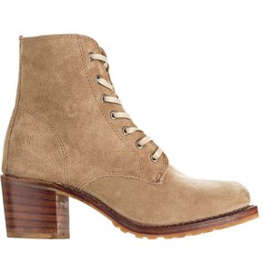 フライ Frye レディース ブーツ シューズ・靴 Sabrina 6G Lace Up Boot Beige|fermart3-store