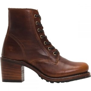 フライ レディース ブーツ シューズ・靴 Sabrina 6G Lace Up Boot Cognac Oil Tanned Full Grain|fermart3-store