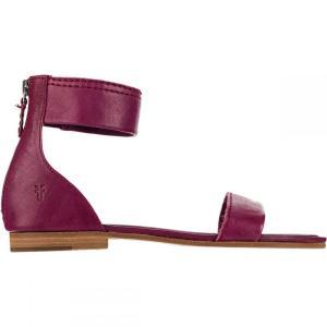 フライ Frye レディース サンダル・ミュール シューズ・靴 Carson Ankle Zip Sandal Berry|fermart3-store